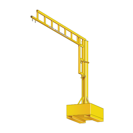 Portable Base Swing Arm Anchor Track System