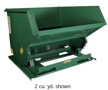 Super Heavy Duty Formed Base Hopper