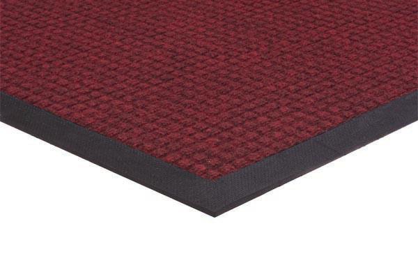 Absorba Red Carpeting on Black Mat