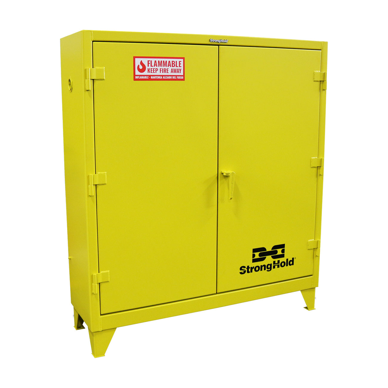 Heavy duty flammable safety cabinet 60 gallon