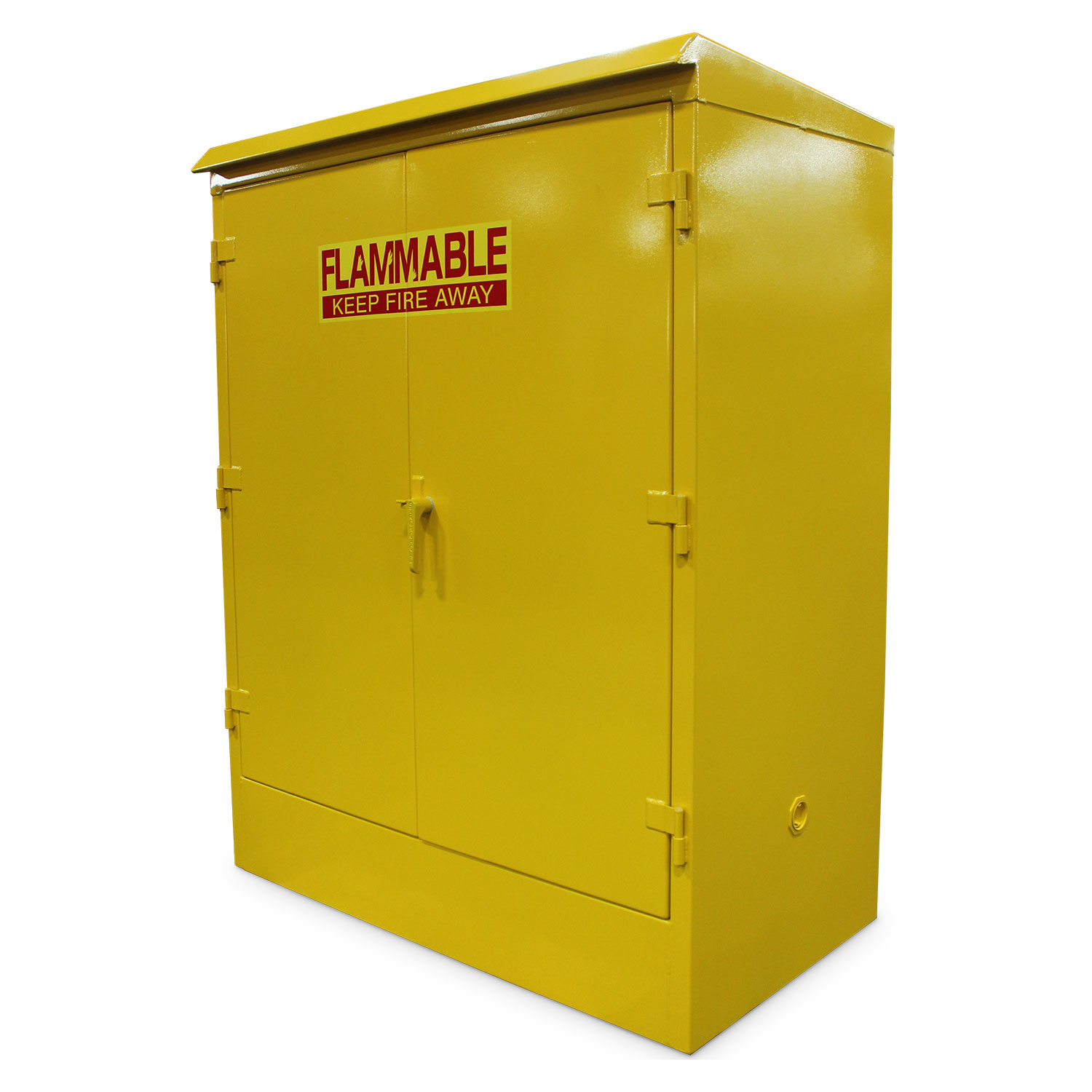 heavy duty outdoor flammable liquid storage cabinet