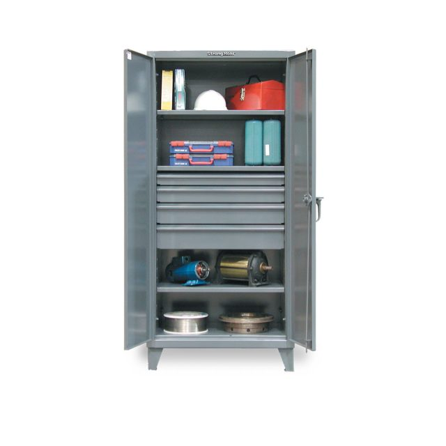 industrial cabinet with 4 drawers