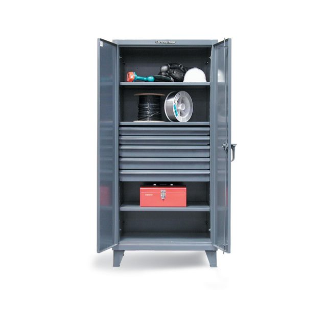 industrial cabinet with 5 drawers