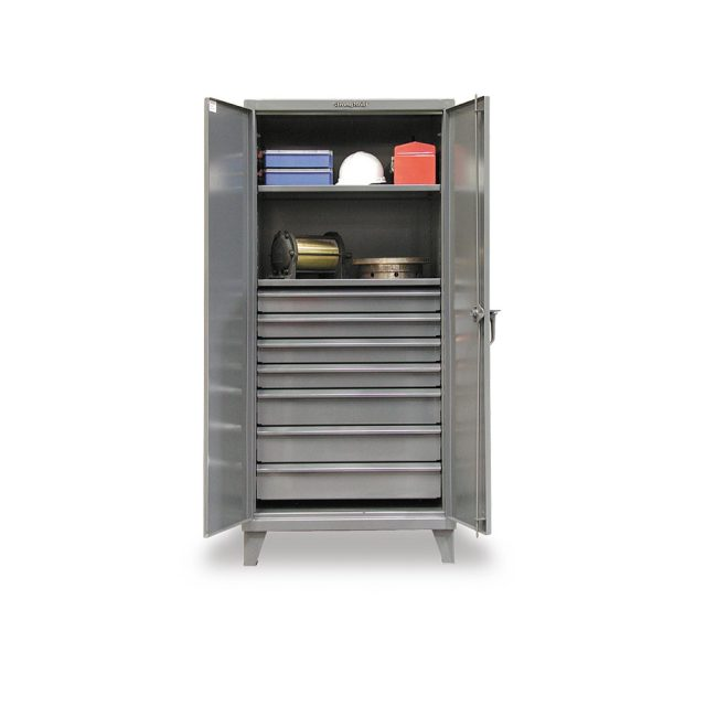 industrial cabinet with 7 drawers