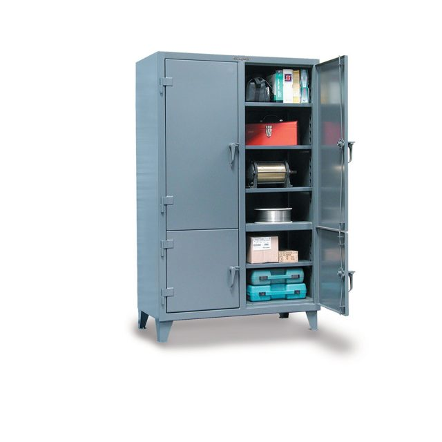 industrial locker with 4 compartments