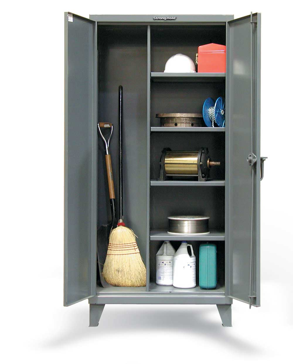 janitorial storage cabinet
