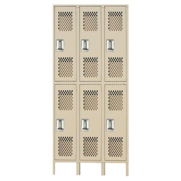 lyon heavy duty ventilated lockers