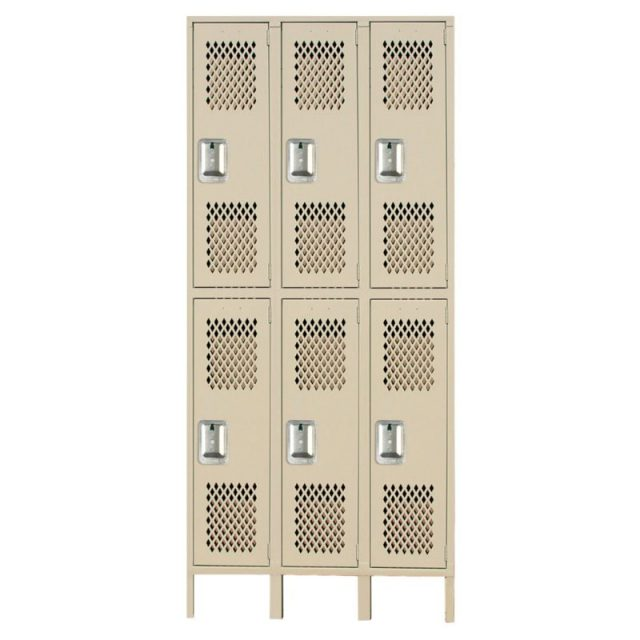 lyon heavy duty ventilated lockers