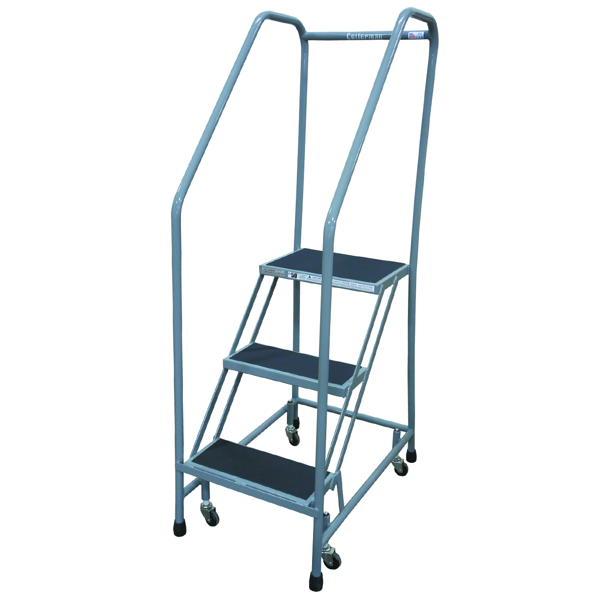 50 Degree Climbing Angle Ladder with 2 Steps and Platform