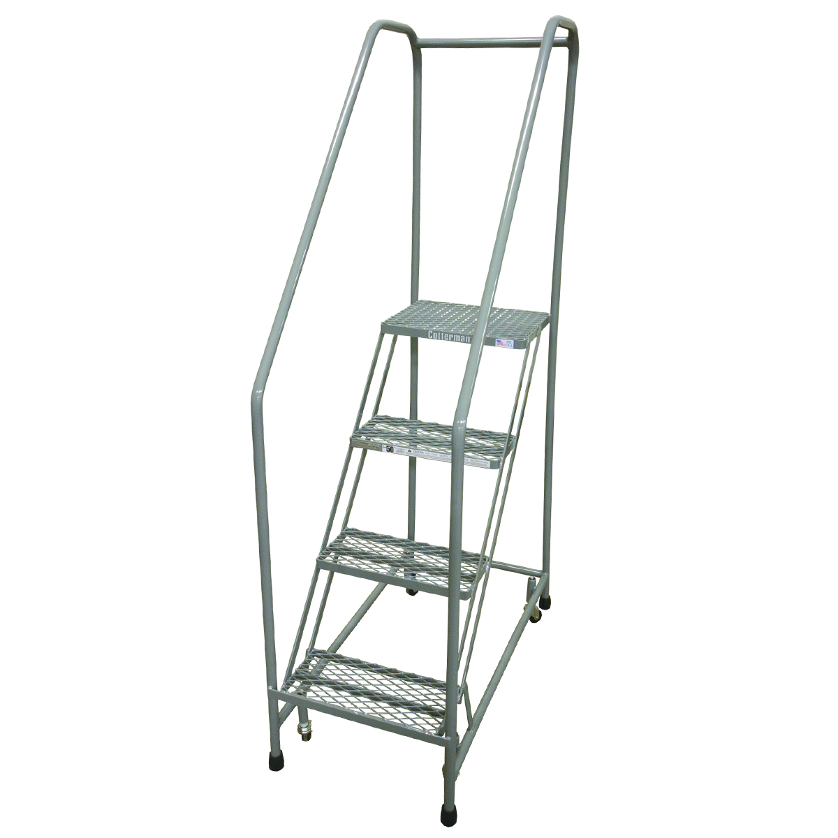 50 Degree Climbing Angle Ladder with 3 Steps and Platform