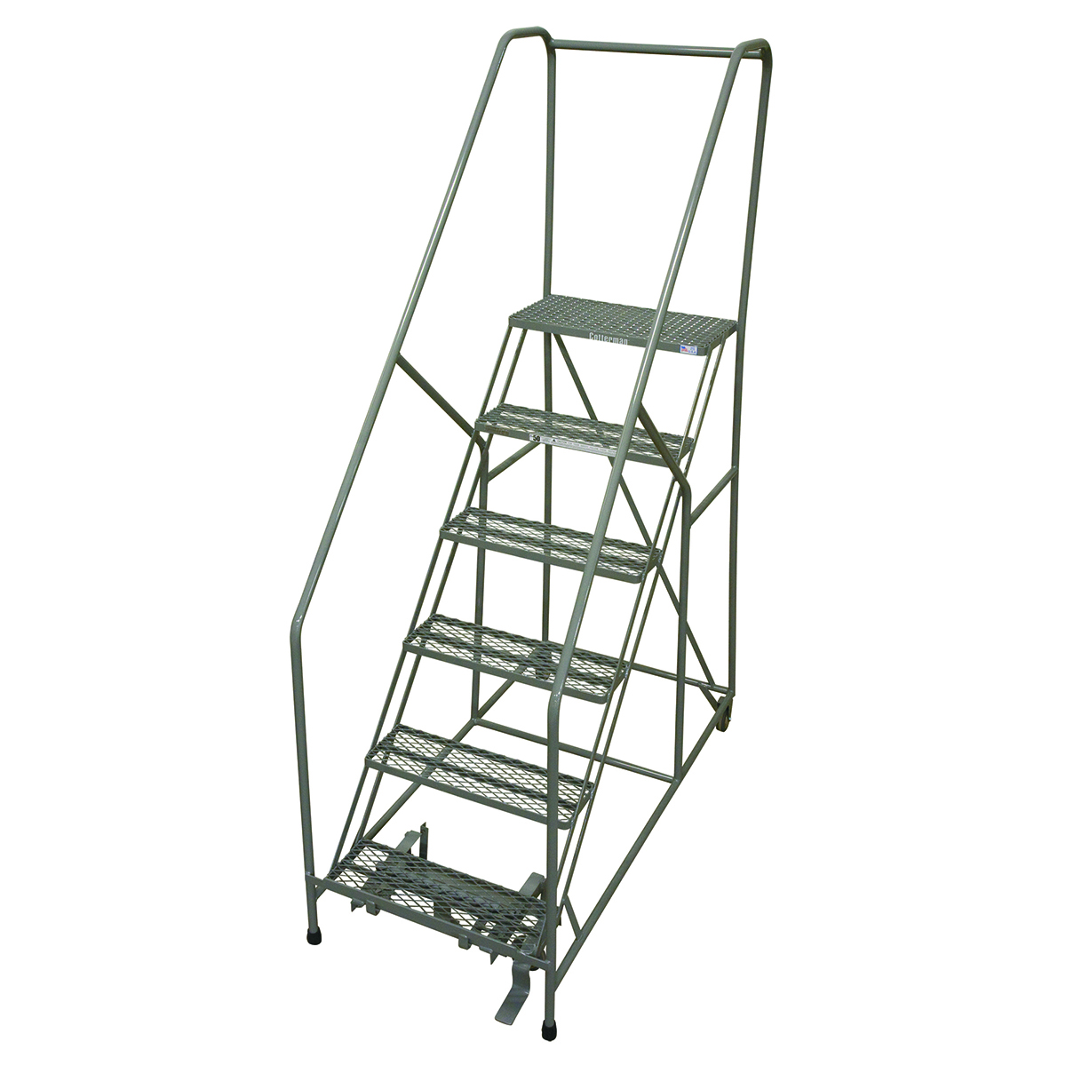 50 Degree Climbing Angle Ladder with 5 Steps and Platform