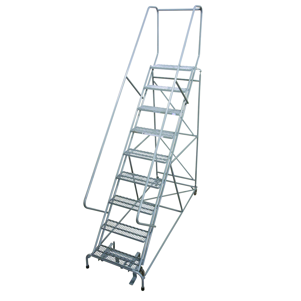 50 Degree Climbing Angle Ladder with 8 Steps and Platform