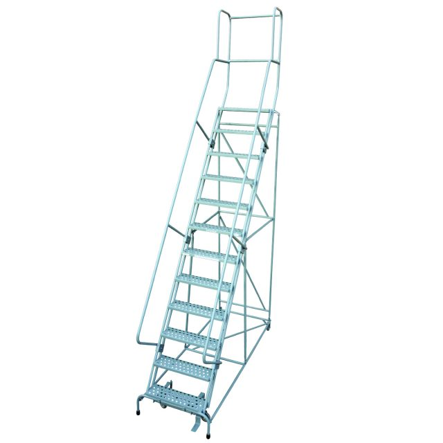 1500 Series Ladder with 11 Steps and Platform