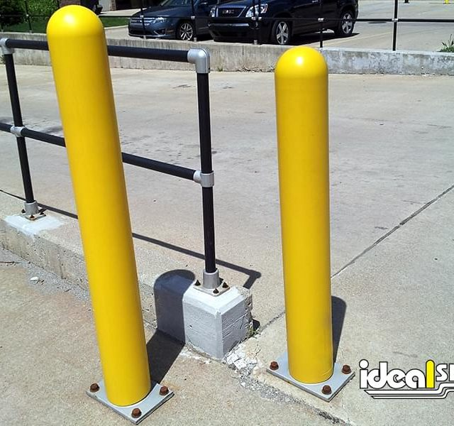 Ideal Shield Steel Pipe Bollard