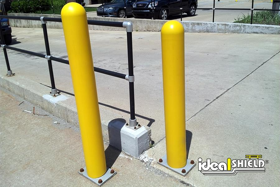 Collapsible Locking Bollard Barron Equipment Amp Overhead