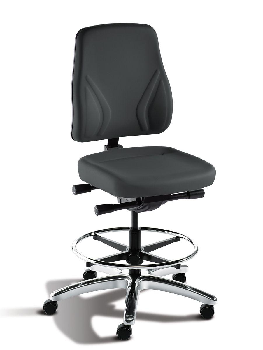 Bimos Trend Black Chair Isometric View