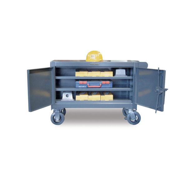 low rise mobile tool cart