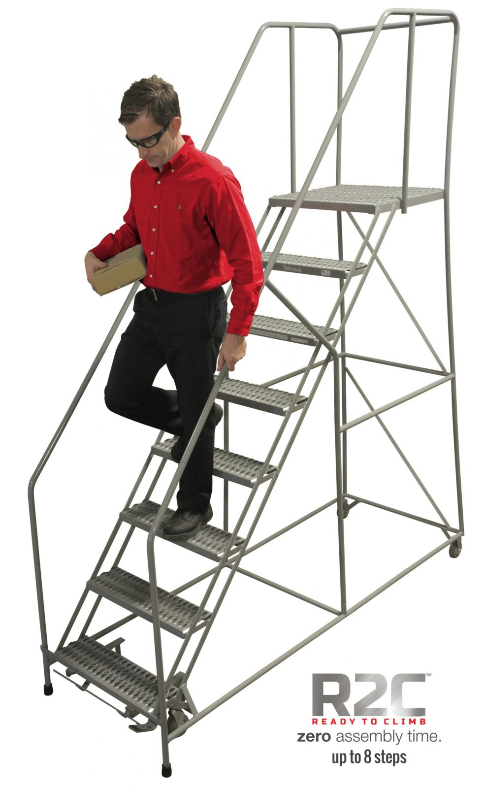 Series 1700 Easy 50 176 Climbing Angle Ladder Partially