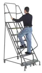 steel rolling ladder