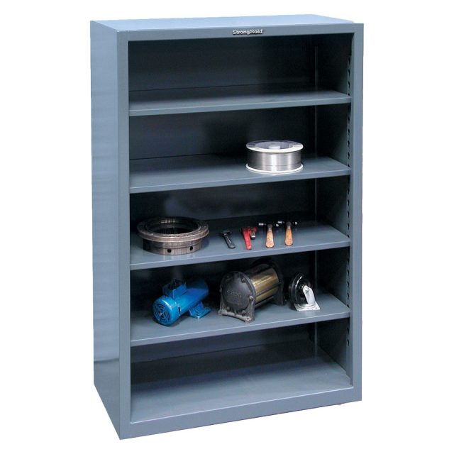 12 ga steel shelving unit