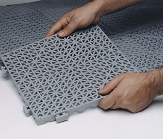 Cushion Tile Color Interlocking Matting