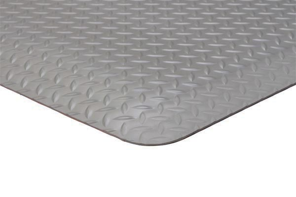 Diamond Foot Mat Gray