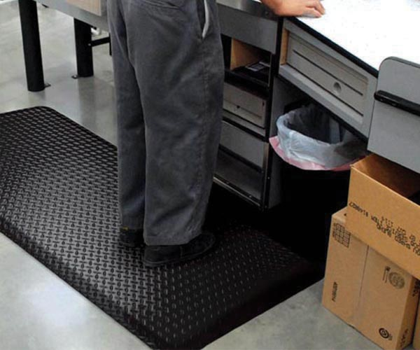 Diamond Foot Mat Picture 1