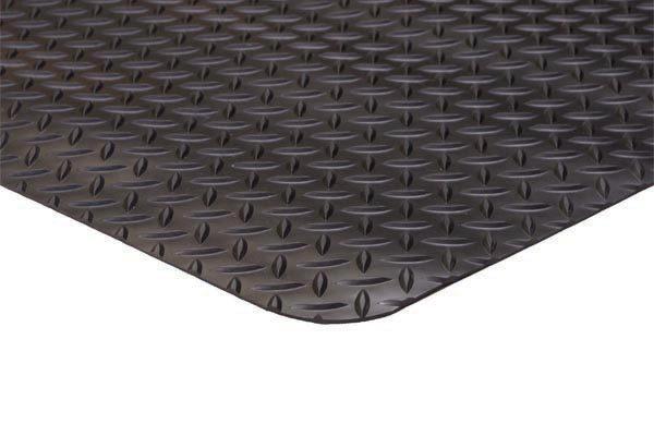 Diamond Runner Black Floor Mat