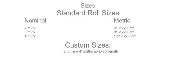 Diamond Runner Sizes