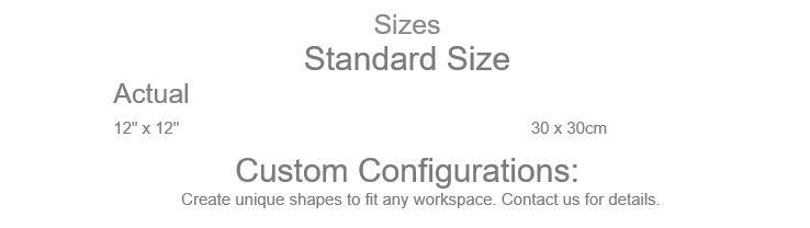 Grid Step Floor mat sizes
