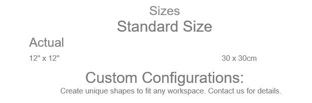Grid Step solid Floor mat sizes