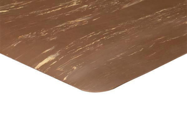 Marble Foot™ Mat Brown Color