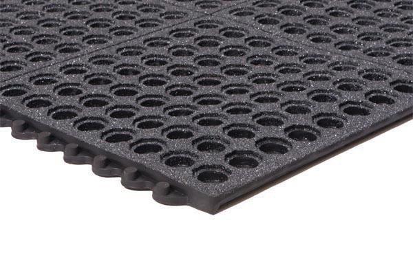 Performa 100N Black Floor Mat with GritTuff