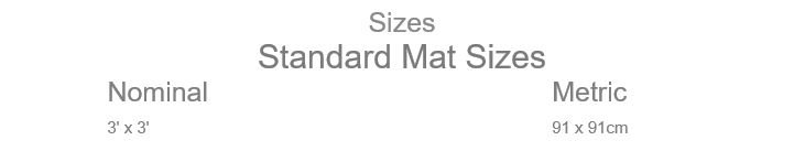 Performa Floor Mat Sizes