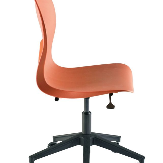 Biofit Skoop Molded Chair with Plastic Rolling Base