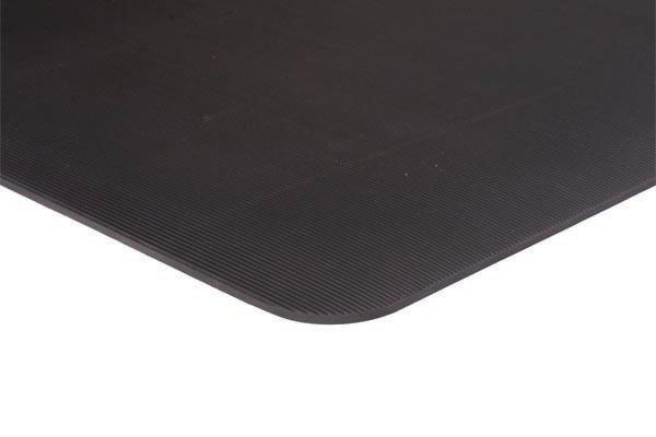 Tuft Foot Runner Floor Mat Black Texture View