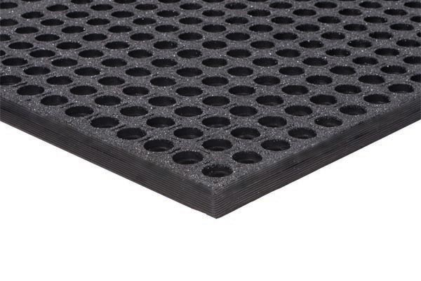 WorkStep Floor Mat Black Grit Tuff