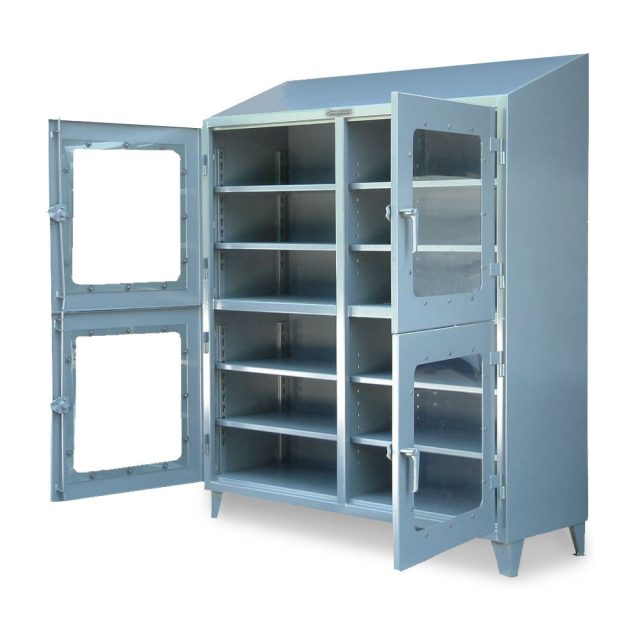 clear view cabinet with 4 compartments