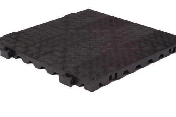 Grid Step Solid Modular Floor Tiles