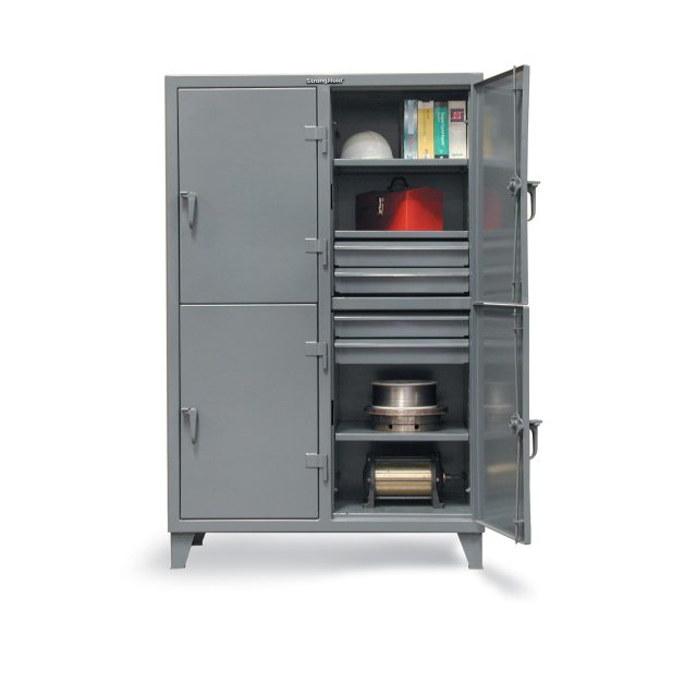 industrial locker with drawers