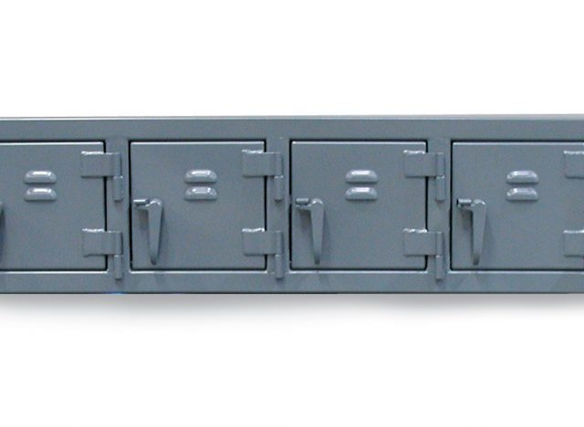 Stronghold Industrial wall locker with 8 compartments