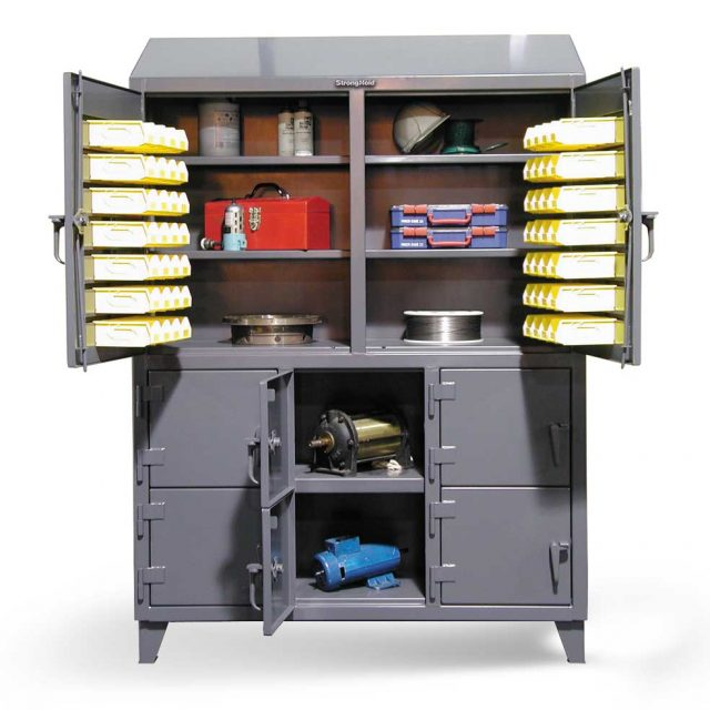 multiple user construction cabinet