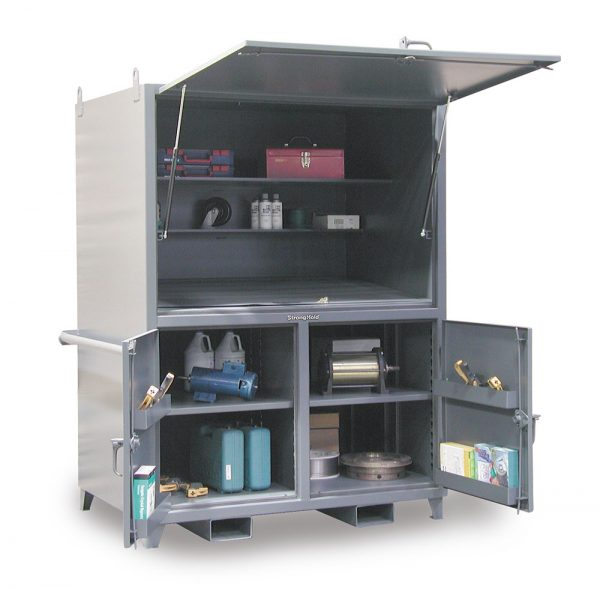 portable field station construction cabinet