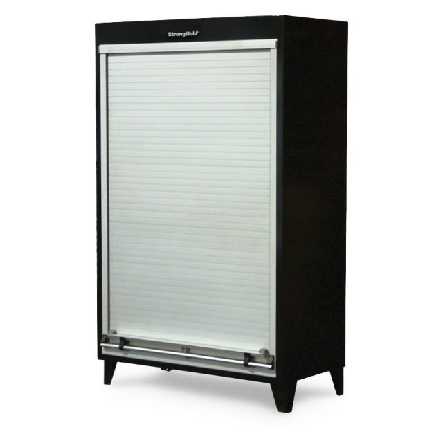 roll up door storage cabinet