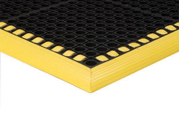 SafetyTruTread Floor Mat Black and Yellow Color