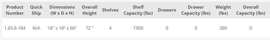 single tier industrial locker