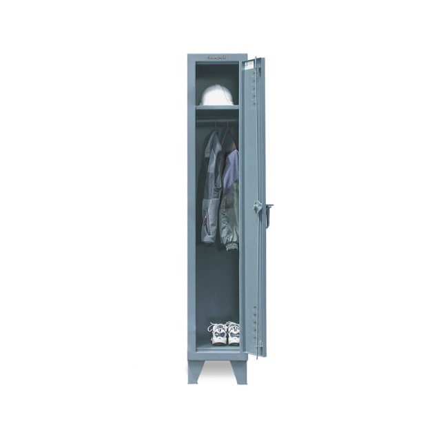 single tier slim line locker