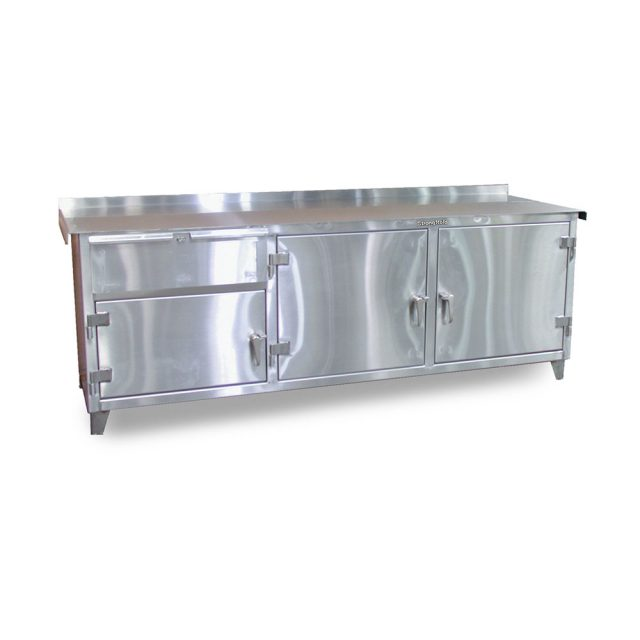 stainless steel counter height workbench