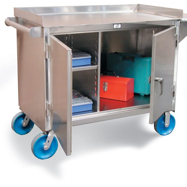 stainless steel mobile cart
