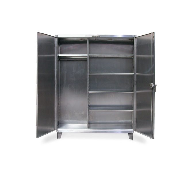 stainless steel uniform cabinet